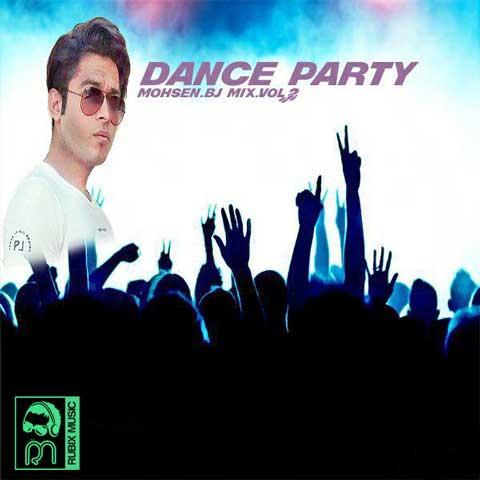 دانلود ریمیکس جدید محسن BJ به نام Dance Party