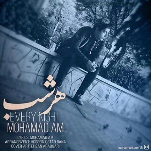 دانلود آهنگ محمد ای ام به نام هر شب