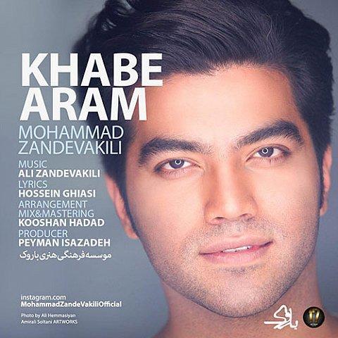 دانلود آهنگ جدید محمد زند وکیلی به نام خواب آرام
