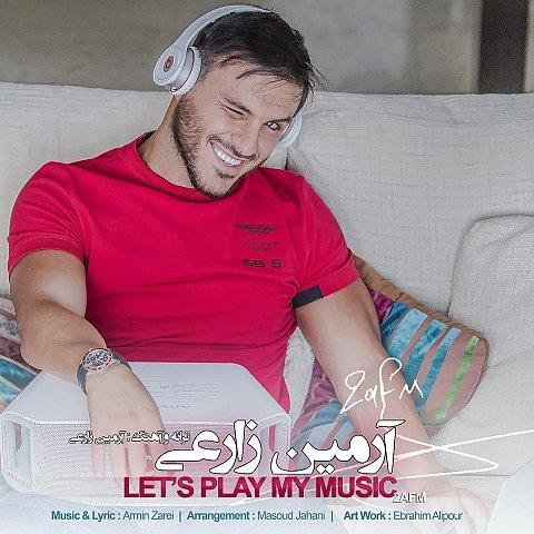 دانلود آهنگ جدید آرمین 2AFM به نام بزار پلی شه موزیکم