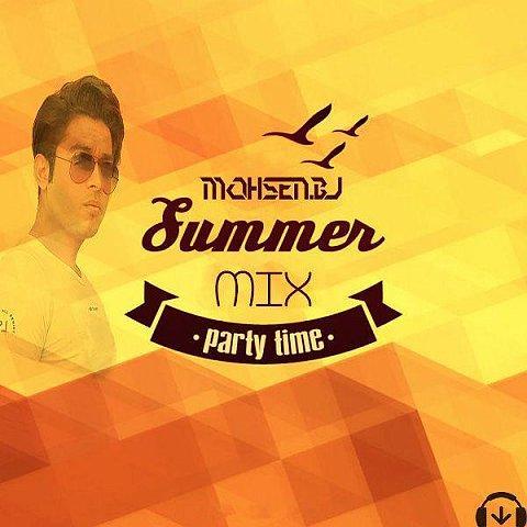 دانلود ریمیکس جدید محسن BJ به نام میکس تابستان
