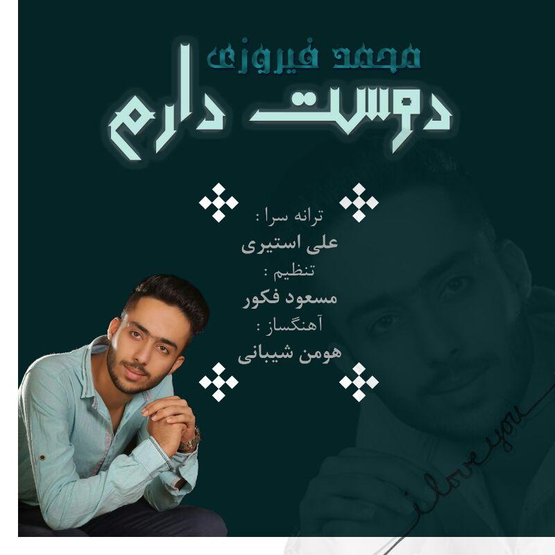 دانلود آهنگ محمد فیروزی به نام دوست دارم