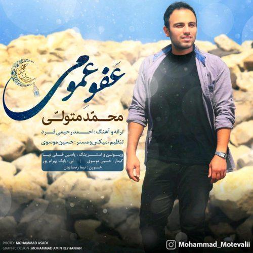 دانلود آهنگ جدید محمد متولی به نام عفو عمومی