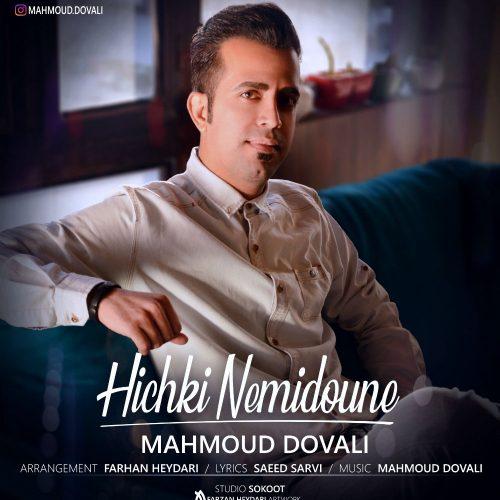 دانلود آهنگ جدید محمود دووَلی هیچکی نمیدونه