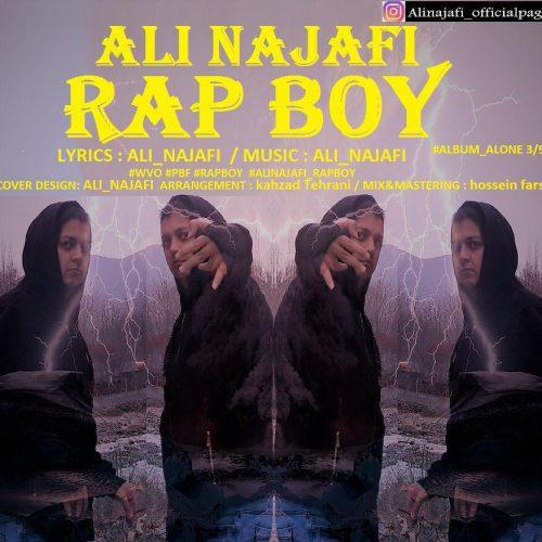 دانلود آهنگ علی نجفی به نام پسر رپ