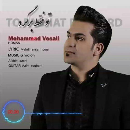 دانلود آهنگ جدید محمد وصالی تو فقط برگرد