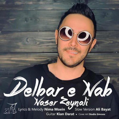 دانلود آهنگ جدید ناصر زینلی دلبر ناب (ورژن آهسته)