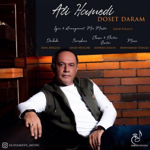 دانلود آهنگ علی حامدی به نام دوست دارم