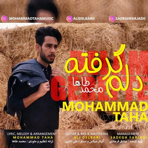 دانلود آهنگ جدید محمد طاها دلم گرفته
