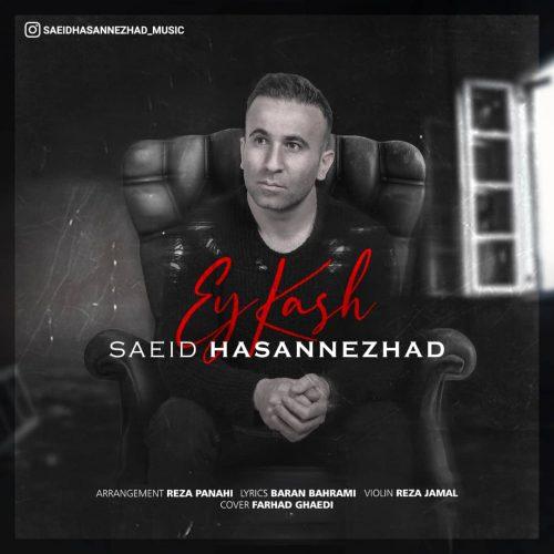 دانلود آهنگ جدید سعید حسن نژاد ای کاش