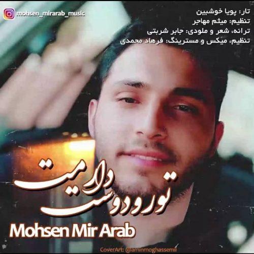 دانلود آهنگ جدید محسن میر عرب تو رو دوست دارمت